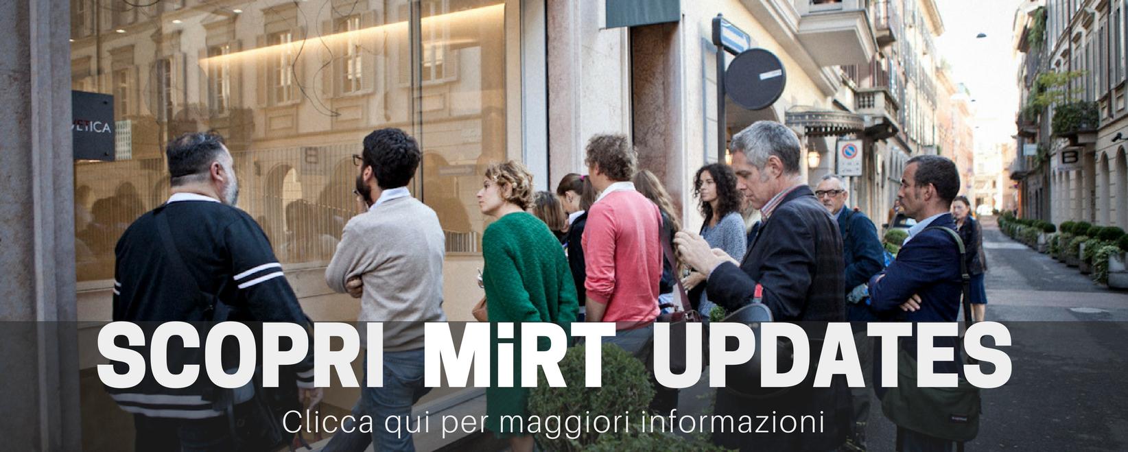 Scopri MiRT Updates per sito mirt