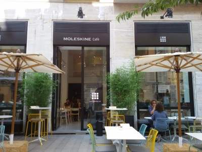 Ispirazione assicurata @Moleskine Café - MiRT - Retail Tour