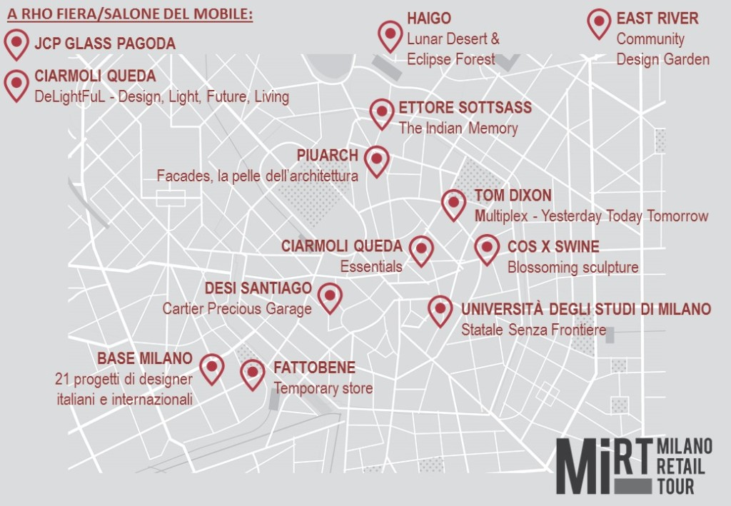 mappa MiRT design week GOOD